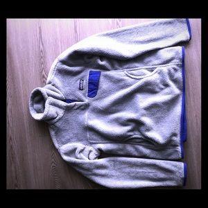 Patagonia quarter button fleece pullover